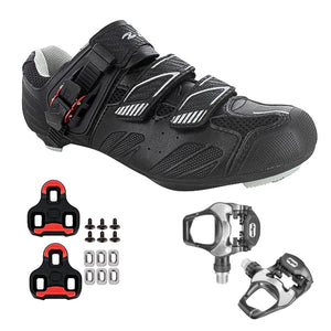 Zol Stage Plus Road Cycling Shoes with Pedals & Cleats - Zol Cycling