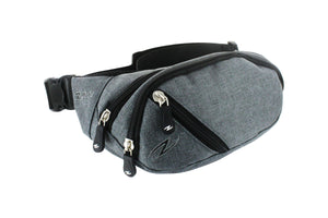 Medium Waist Bag Dark Grey - Zol Cycling
