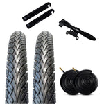 Zol Bundle Pack 2 Velocita BMX Tires, 2 Bike Tube 20x1.75, AV 48 MM, 2 Tire Levers and 1 Zol Mini Pump - Zol Cycling