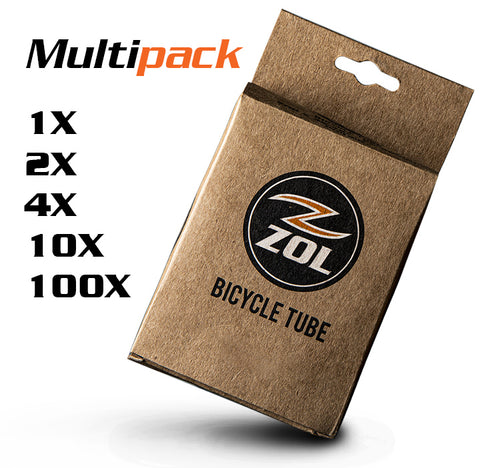 "Zol Mountain Bike Bicycle Inner Tube 29""x2.8/3.25 PRESTA Valve 26.5 mm - Zol Cycling"