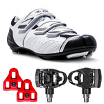 Zol Stage Cycling Shoes With Road Mtb  Dual Pedals and Cleats - Zol Cycling