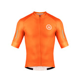 Zol Cycling Breathable Race Fit Jersey Orange - Zol Cycling