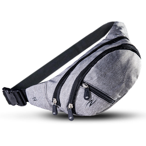 XSmall Waist Bag Dark Grey - Zol Cycling