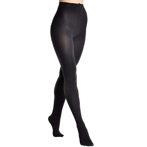 Extra Thick Super Warm Brushed Interior Termal Tights black 2