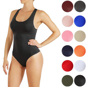 Soft and Comfortable Basic Thong With Bottom Snaps Bodysuit