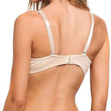 Full Support Light Lined Multi-Way Strapless Bra beige back