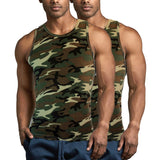 2-Pack Military Army Camouflage Mens A-Shirt Undershirt