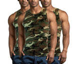 3-Pack Military Army Camouflage Mens A-Shirt Undershirt
