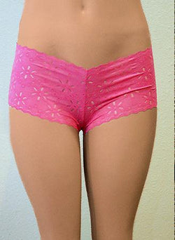 Sculpted Stretch lace Tanga Boyshort