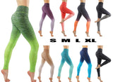 Women's Flexible Ombre Workout Pants