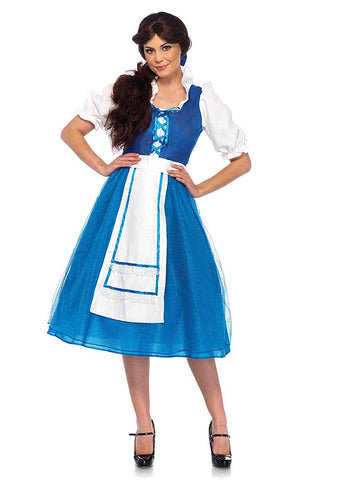 Leg Avenue 85618 Womens Village Beauty Belle Disney Costume