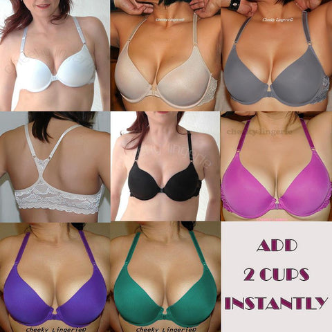 b10695399c925 Add 2 Cup Sizes Racerback Front Close Push Up Bra – cheeky lingerie