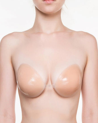 Freebra Backless/Strapless Silicone Adhesive Bra Nude Beige closed