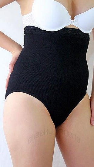 Femina Shapewear High-Waist Brief Firm Control Panty Black