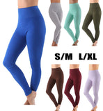 Premium High Waist Thick Cotton Yoga/Workout Pants Leggings 1