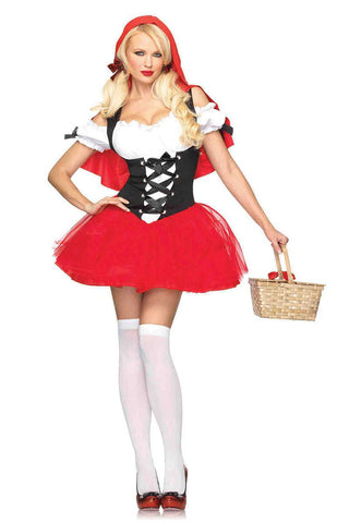 Adult female Red Riding Hood Racy Women's Adult Halloween Costume