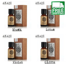 Musk, Lotus, Violet, and Clove Essential Oil Pack