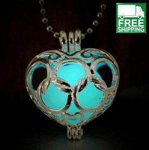 Glow in the Dark Oil Diffuser Necklace