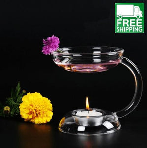 Glass Essential Oil Burner