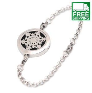 Essential Oil Diffuser Locket Bracelet