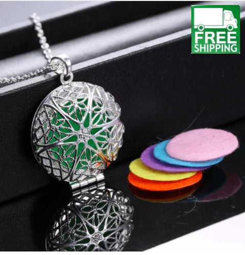 Vintage Aromatherapy Locket Oil Diffuser