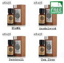 Musk, Sandalwood, Patchouli, and Tea Tree Essential Oil Pack