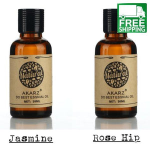 Jasmine and Rose Hip Essential Oil Pack