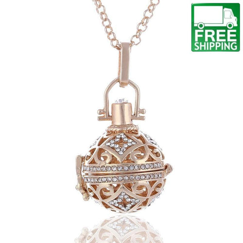 Angel Ball Diffuser Necklace