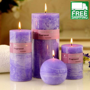 Smokeless Lavender Essential Oil Candles