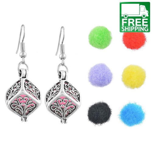 Essential Oils Diffuser Drop Earrings