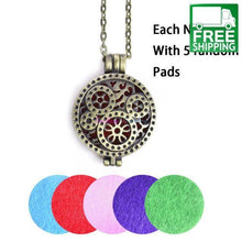 Vintage Locket with Pads Aroma Diffuser