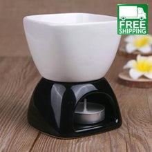 Black And White Large Capacity Essential Oil Burner All Products Candle Diffusers