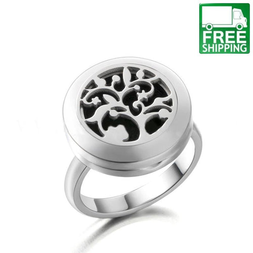 Abstract Tree Aromatherapy Diffuser Ring