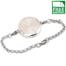 Tree of Life Stainless Steel Perfume Diffuser Bracelet