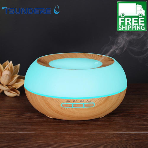 LED Color Changing Essential Oils Diffuser