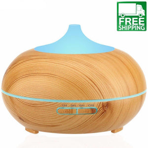 Wood Ultrasonic Essential Oil Diffuser