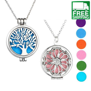 Essential Oil Diffuser Necklace Set