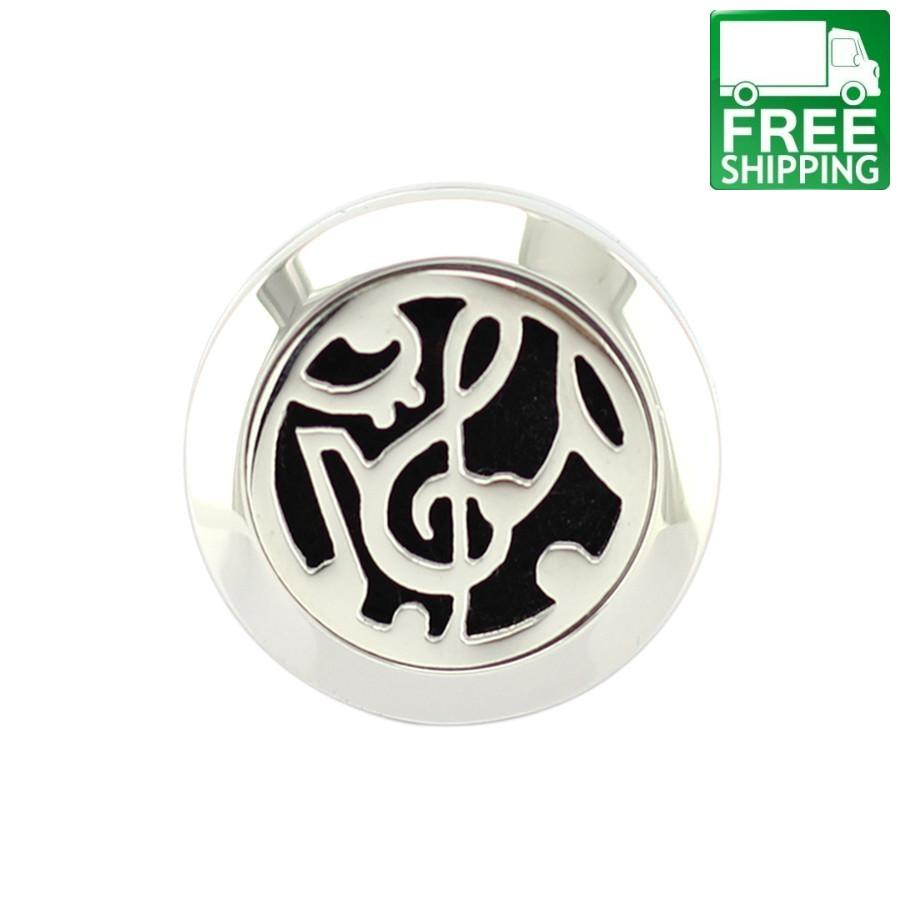 Musical Notes Aromatherapy Diffuser Ring