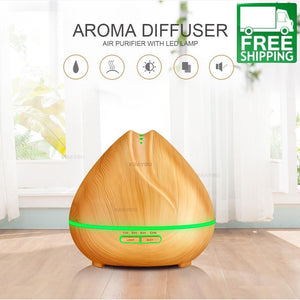 400ml Aroma Ultrasonic Essential Oil Diffuser