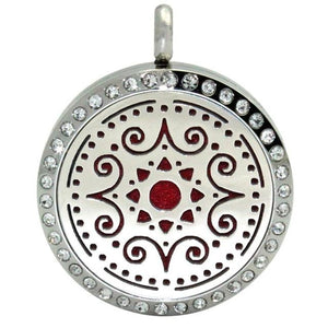 Aromatherapy Stainless Steel Necklace with Locket