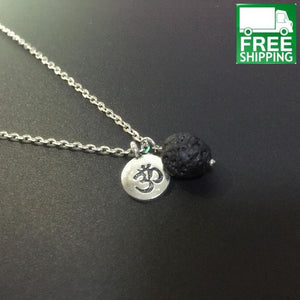 Yoga And Lava Stone Diffuser Necklace All Products Aromatherapy
