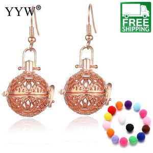 Aromatherapy Essential Oils Diffuser Earrings