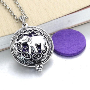 Elephant Aromatherapy Necklace