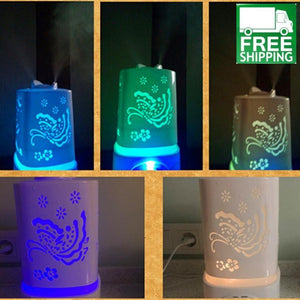 Ultrasonic Essential Oil Diffuser With 5 Colors