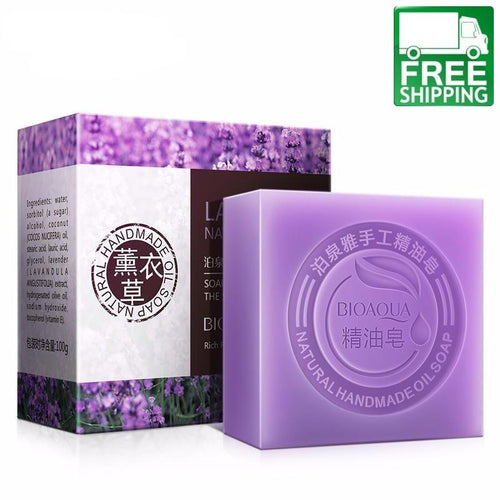 Lavender Body and Face Soap
