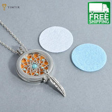 Feather Aromatherapy Lockets