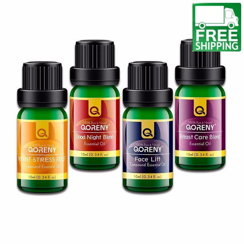Instant Stress Relief  + Breast Care Blend + Good Night Blend