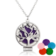 Aromatherapy Bronze Tree of Life Necklace