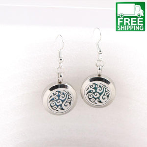 Ocean Waves Aromatherapy Earrings