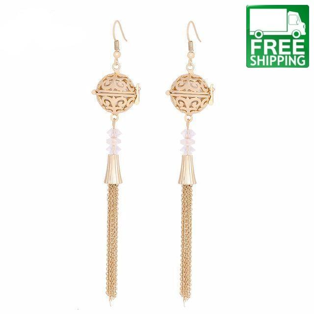Dangle Tassel Aromatherapy Earrings